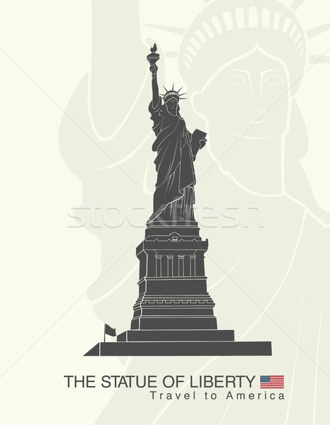 像 自由 ニューヨーク ランドマーク アメリカン シンボル ストックフォト © Panaceadoll