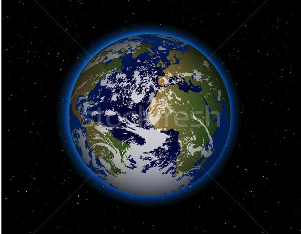 beautiful Planet Earth Stock photo © Panaceadoll