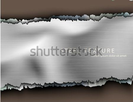дыра металл дизайна фон взрыв пуля Сток-фото © Panaceadoll