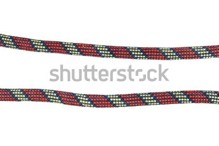 isolated climbing rope Stock photo © pancaketom