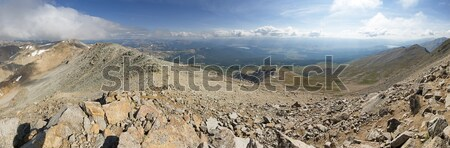 Mount Massive Summit Panorama Stock photo © pancaketom