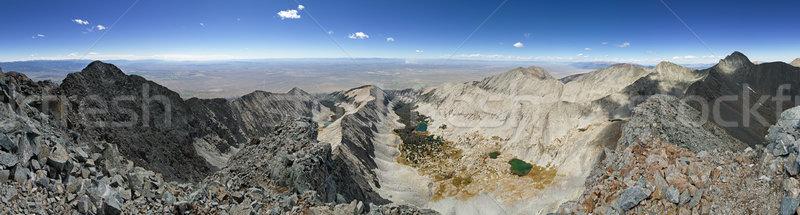 Little Bear Peak Summit Panorama Stock photo © pancaketom