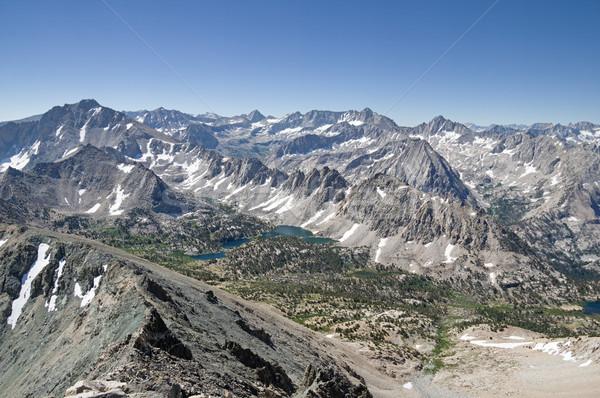 Sierra Nevada Mountains Stock photo © pancaketom