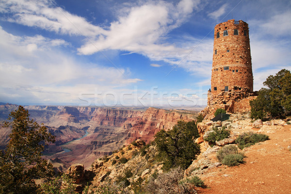 Grand Canyon Watchtower Stock photo © pancaketom