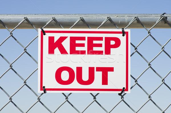 Keep Out Stock photo © pancaketom