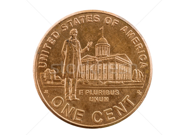 Lincoln Indiana Legislature Penny Stock photo © pancaketom