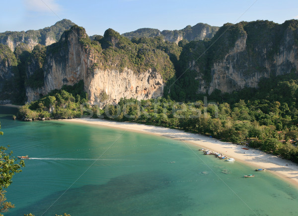 Rai Lay west beach Stock photo © pancaketom