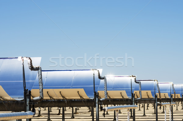 Solar Thermal Electric Plant Stock photo © pancaketom