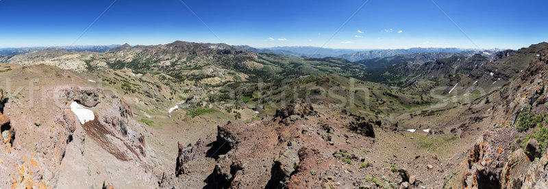 Sonora Pass Panorama Stock photo © pancaketom
