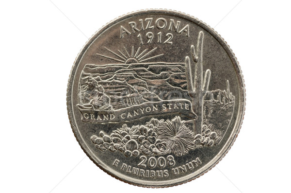 Arizona State Quarter Stock photo © pancaketom
