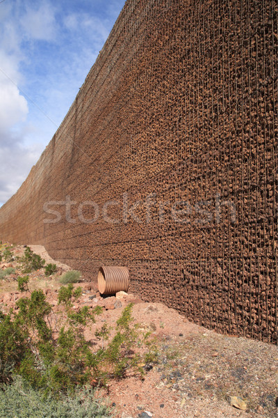 retaining wall Stock photo © pancaketom