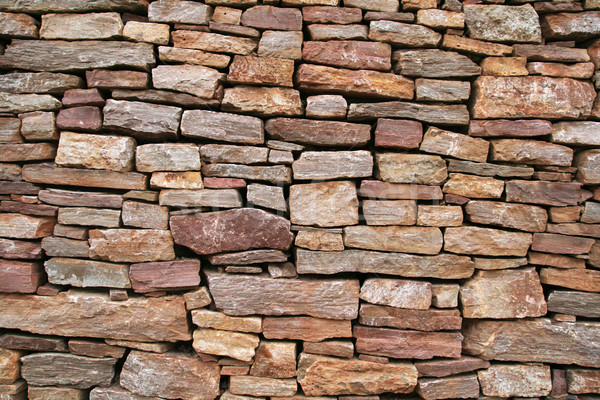 dry stone wall Stock photo © pancaketom