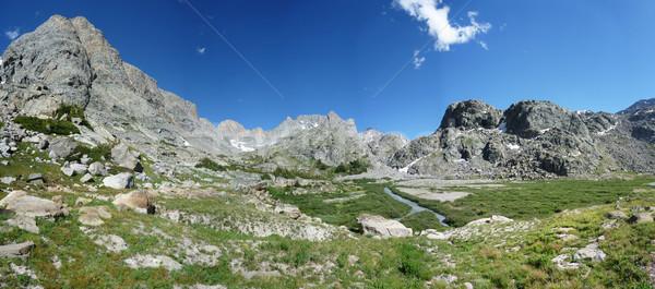 mountain panorama Stock photo © pancaketom