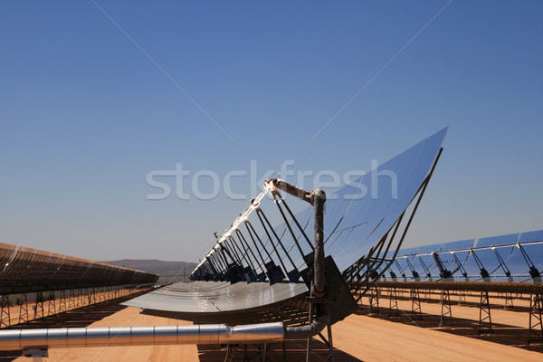 solar energy desert plant Stock photo © pancaketom