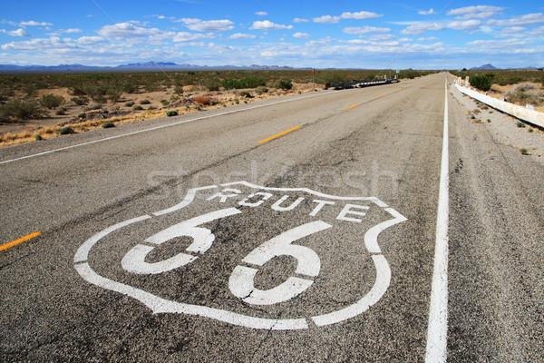 route 66 road Stock photo © pancaketom