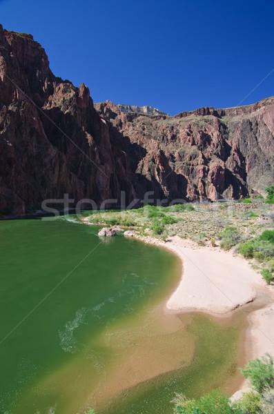 Grand Canyon spiaggia Colorado fiume fondo phantom Foto d'archivio © pancaketom