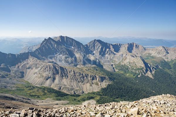 Three Apostle Mountains Stock photo © pancaketom