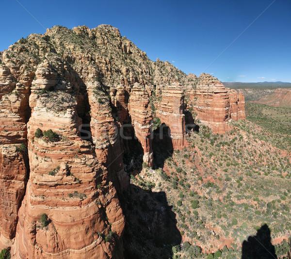 red rock cliffs Stock photo © pancaketom