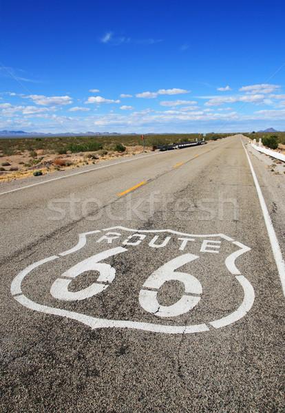 route 66 roadway Stock photo © pancaketom