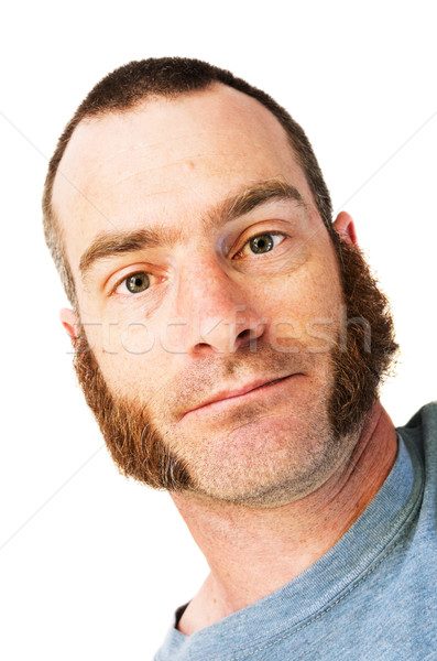 Man with Mutton Chops Stock photo © pancaketom