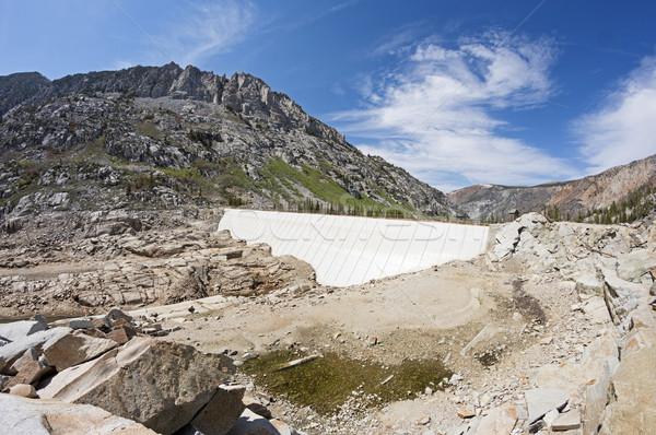 Empty South Lake Dam Stock photo © pancaketom