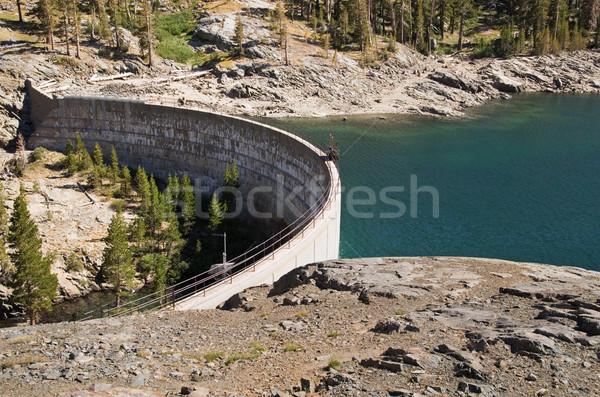 湖 具体的な 貯水池 カリフォルニア ストックフォト © pancaketom