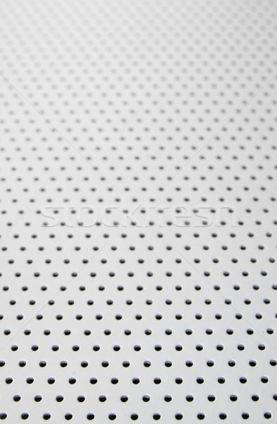 металлический фон текстуры металл избирательный подход передний план фон Сток-фото © pancaketom