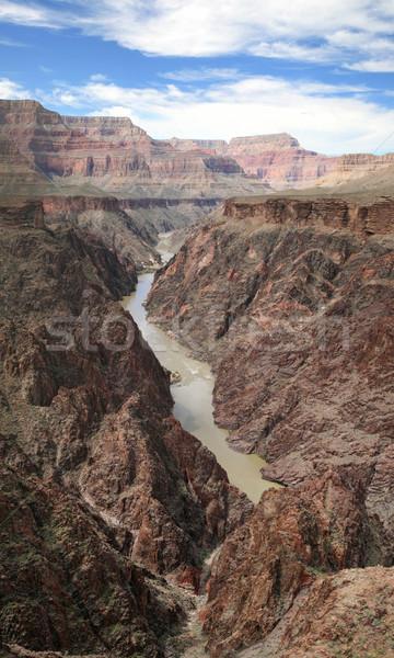 グランドキャニオン 垂直 パノラマ コロラド州 川 インナー ストックフォト © pancaketom