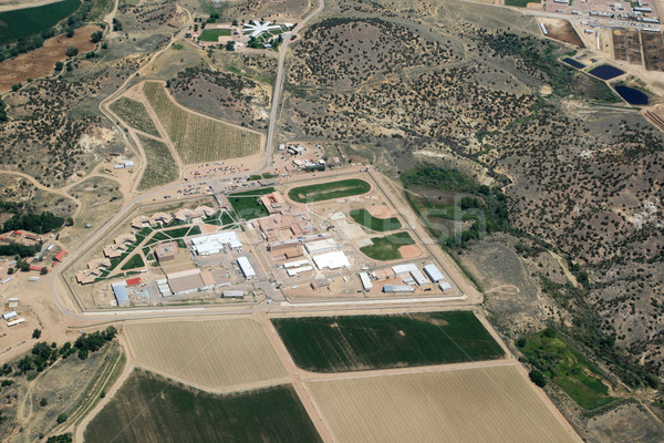 Aerial Prison View Stock photo © pancaketom