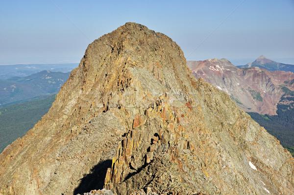 El Diente Peak Stock photo © pancaketom