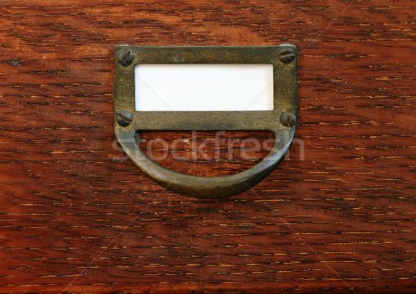 card catalog drawer Stock photo © pancaketom