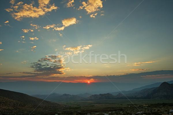 Sunrise Stock photo © pancaketom