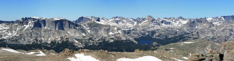 Wind River Mountains Stock photo © pancaketom