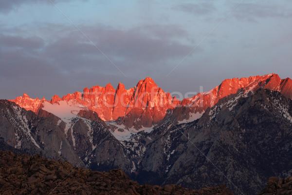Mount Whitney Stock photo © pancaketom