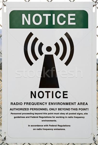 радио частота среде цепь Сток-фото © pancaketom