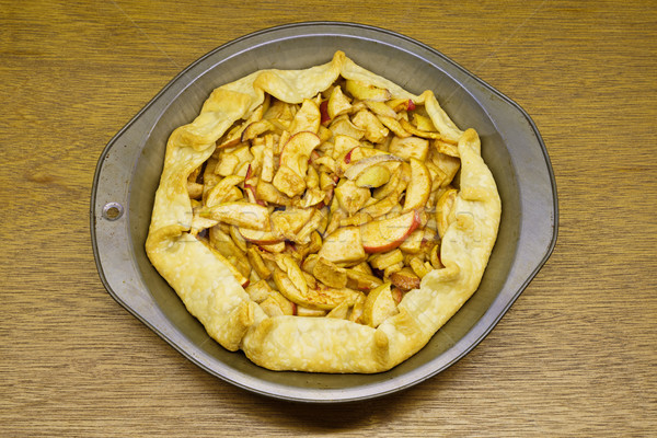 Stock photo: Home Made Apple Tart