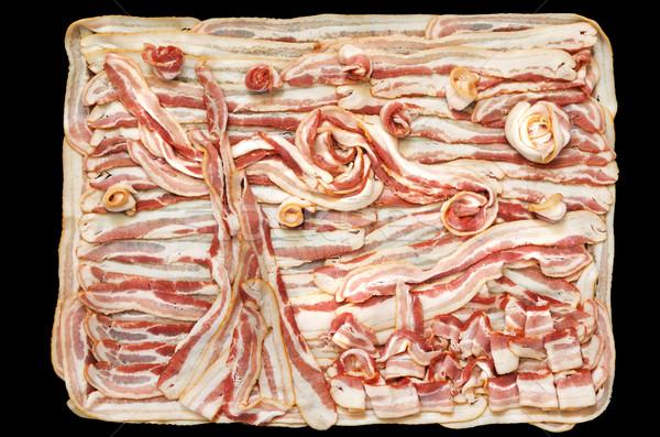 Gece domuz pastırması parodi ikonik kamyonet Stok fotoğraf © pancaketom