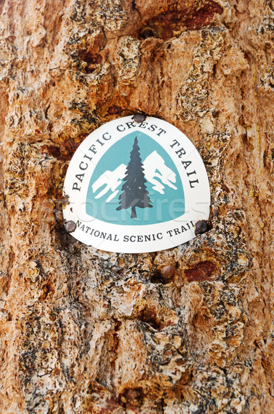 Pacific Crest Trail PCT Marker Stock photo © pancaketom