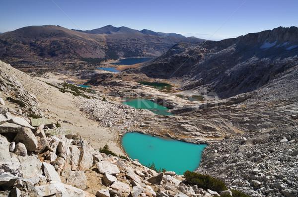 Alpino sotto lattiginoso blu acqua natura Foto d'archivio © pancaketom