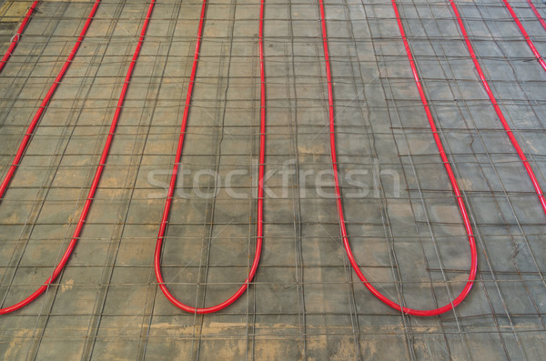 Hydronic Heating Pex Tubing  Stock photo © pancaketom