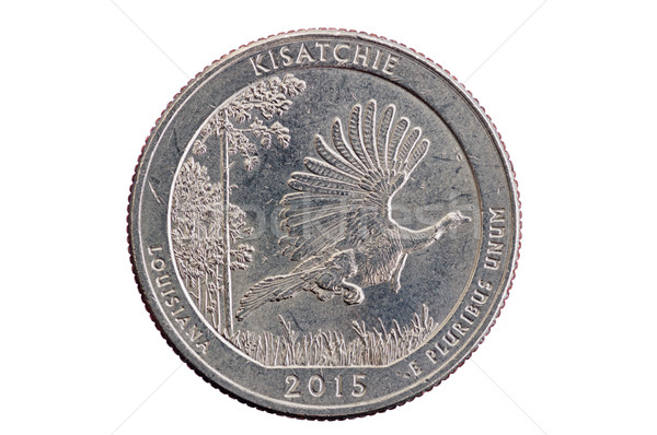 Kisatchie Commemorative Quarter Coin Stock photo © pancaketom