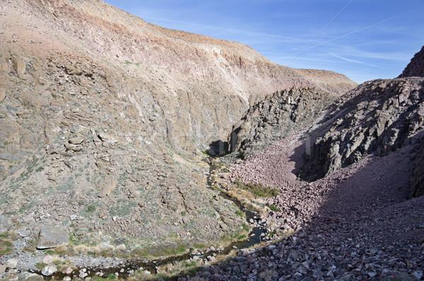 Owens River Gorge Stock photo © pancaketom