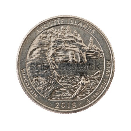 Great Basin Quarter Coin Stock photo © pancaketom