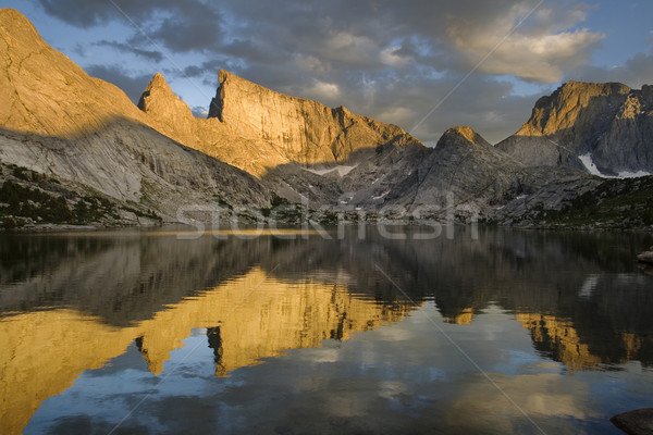 mountain lake Stock photo © pancaketom