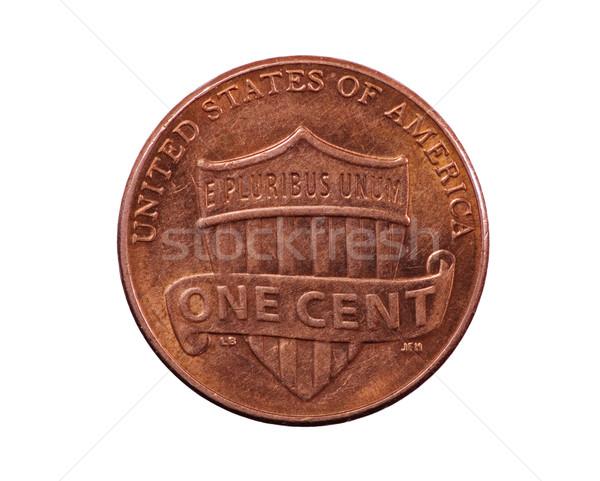 щит пенни монеты Соединенные Штаты Союза дизайна Сток-фото © pancaketom