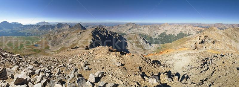 Missouri Mountain Summit Panorama Stock photo © pancaketom