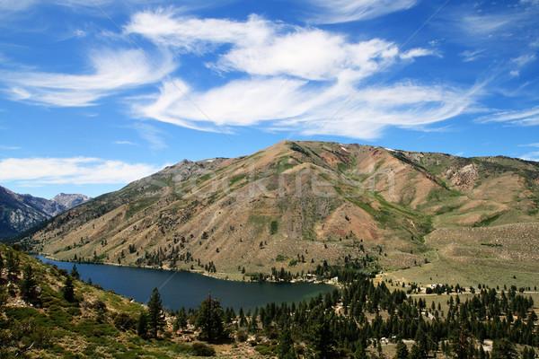Alsó iker tó kép fűrészmalom Stock fotó © pancaketom