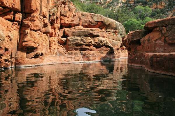 Arizona swimming hole Stock photo © pancaketom