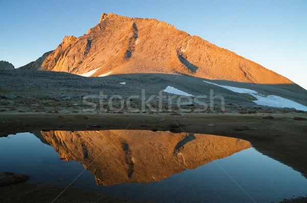 Mount Tyndall  Stock photo © pancaketom
