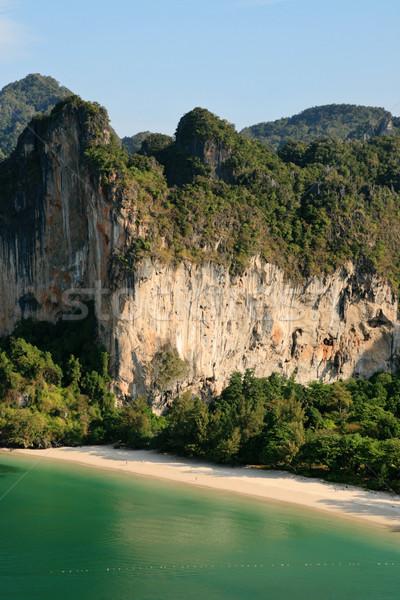 Railay beach Stock photo © pancaketom